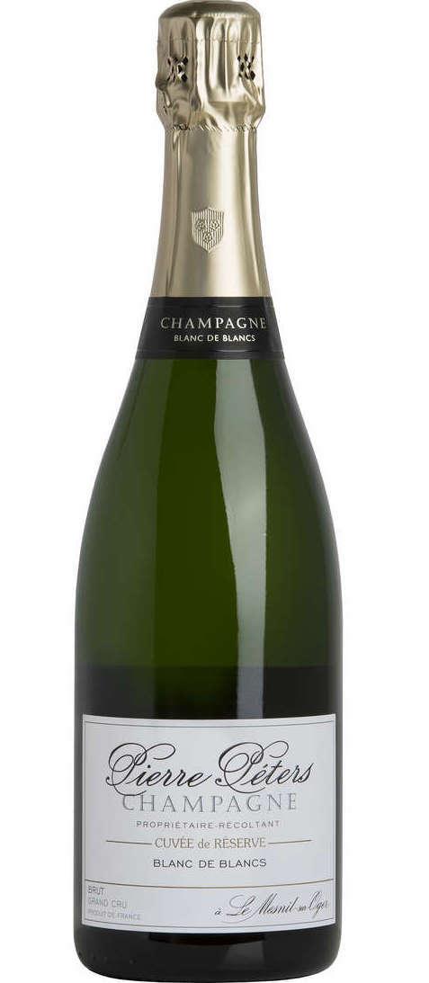 Pierre Peters Cuvee de Reserve Blanc de Blancs Grand Cru Champagne