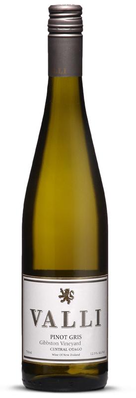 Vallie Gibbston Pinot Gris