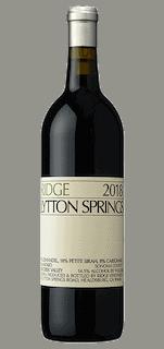 Ridge Estate Lytton Springs 2018