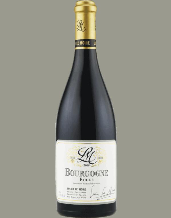 Lucien Le Moine Bourgogne Rouge 2018
