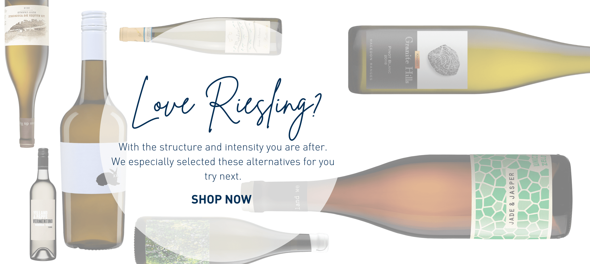 Riesling alternatives to buy online in our bottle shop